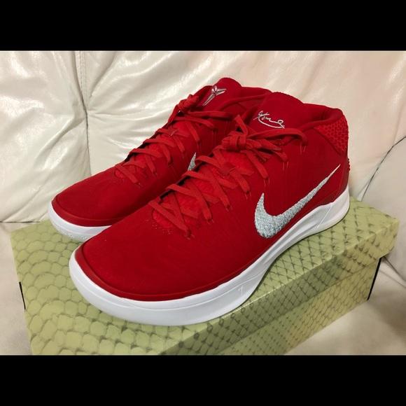 e3ef53ffdbfa Nike Kobe AD TB Promo Red Silver New